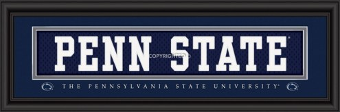 "Penn State Nittany Lions ""Penn State"" Stitched Jersey Framed Print"