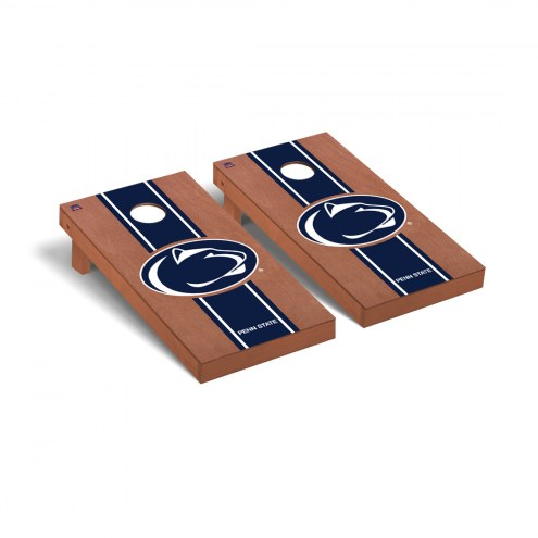 Penn State Nittany Lions Rosewood Stained Cornhole Game Set
