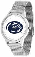 Penn State Nittany Lions Silver Mesh Statement Watch