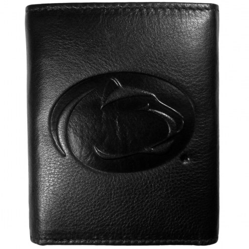 Penn State Nittany Lions Embossed Leather Tri-fold Wallet
