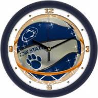 Penn State Nittany Lions Slam Dunk Wall Clock