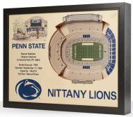 Penn State Nittany Lions 25-Layer StadiumViews 3D Wall Art