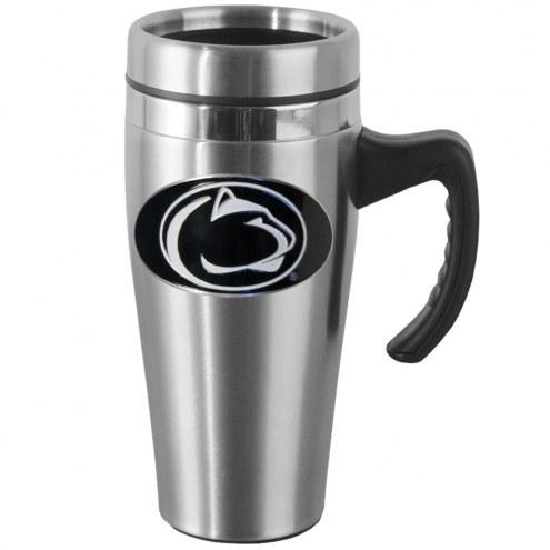Penn State Nittany Lions Steel Travel Mug w/Handle