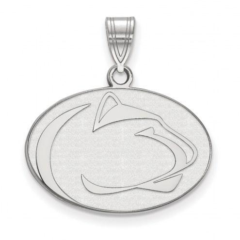 Penn State Nittany Lions Sterling Silver Medium Pendant