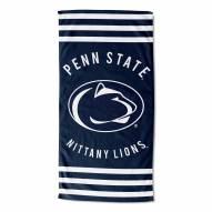 Penn State Nittany Lions Stripes Beach Towel