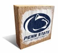 Penn State Nittany Lions Team Logo Block