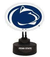Penn State Nittany Lions Team Logo Neon Light