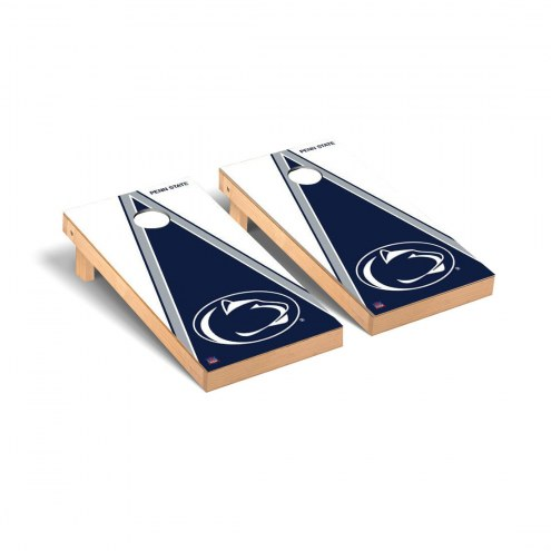 Penn State Nittany Lions Triangle Cornhole Game Set