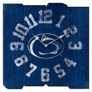 Penn State Nittany Lions Vintage Square Clock