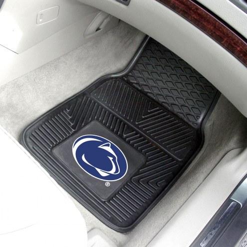 Penn State Nittany Lions Vinyl 2-Piece Car Floor Mats