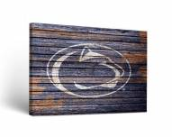 Penn State Nittany Lions Weathered Canvas Wall Art