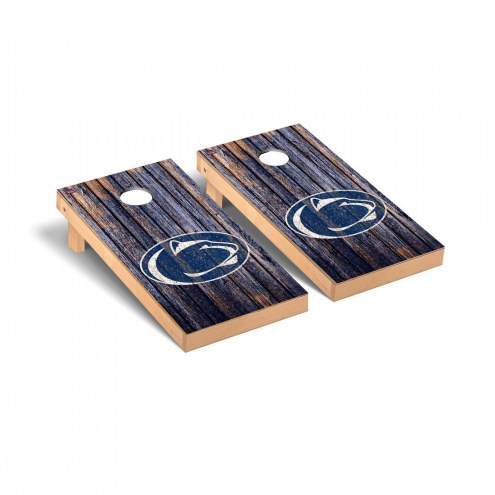 Penn State Nittany Lions Weathered Cornhole Game Set