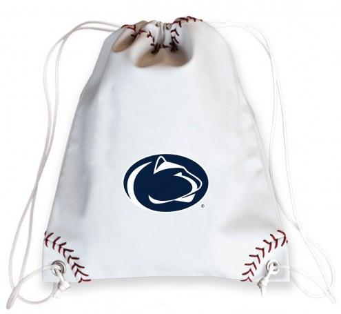 Penn State Nittany Lions Baseball Drawstring Bag