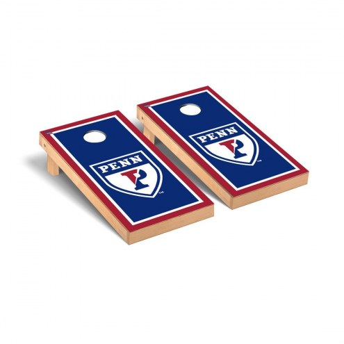 Pennsylvania Quakers Border Cornhole Game Set