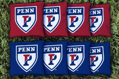 Pennsylvania Quakers Cornhole Bag Set