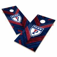 Pennsylvania Quakers Herringbone Cornhole Game Set