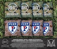 Pennsylvania Quakers Operation Hat Trick Cornhole Bag Set