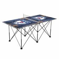 Pennsylvania Quakers Pop Up 6' Ping Pong Table