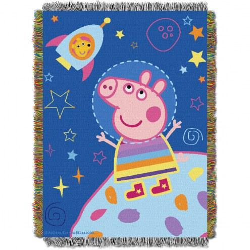 Peppa Pig Love My Space Throw Blanket