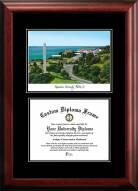 Pepperdine Waves Diplomate Diploma Frame
