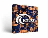 Pepperdine Waves Fight Song Canvas Wall Art