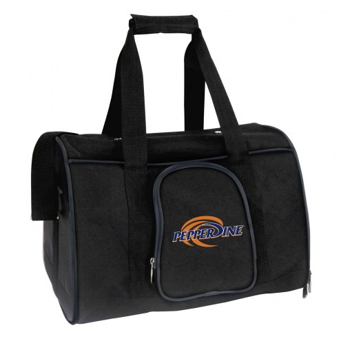 Pepperdine Waves Premium Pet Carrier Bag