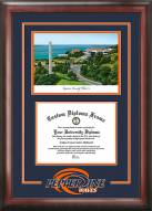 Pepperdine Waves Spirit Diploma Frame with Campus Image