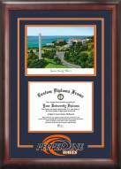 Pepperdine Waves Spirit Graduate Diploma Frame
