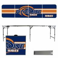 Pepperdine Waves Victory Folding Tailgate Table