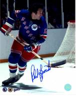 Phil Esposito New York Rangers Signed 1st Game 8 x 10 Photo