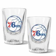 Philadelphia 76ers 2 oz. Prism Shot Glass Set
