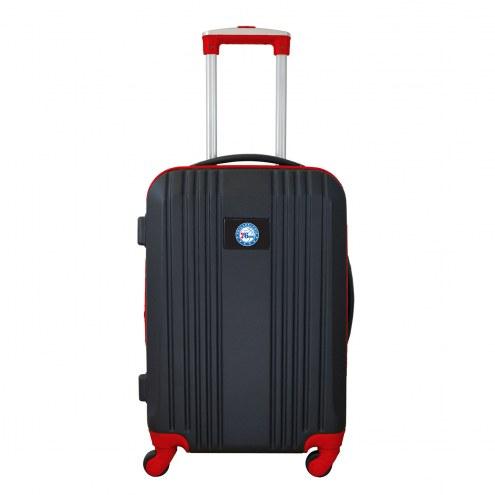 "Philadelphia 76ers 21"" Hardcase Luggage Carry-on Spinner"