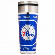 Philadelphia 76ers 22 oz. Hi Def Travel Tumbler