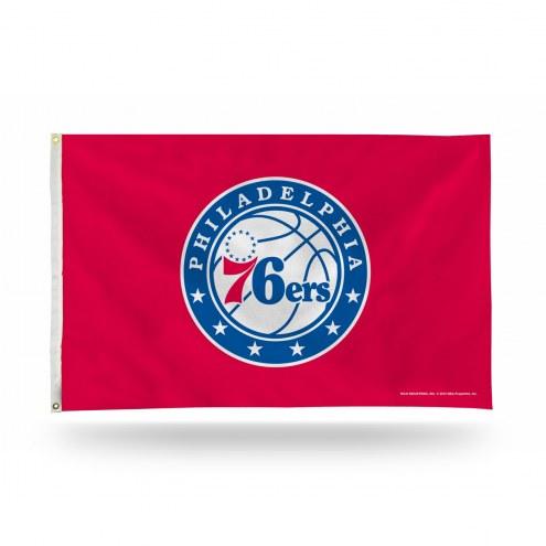 Philadelphia 76ers 3' x 5' Banner Flag