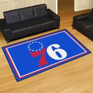 Philadelphia 76ers 5' x 8' Area Rug