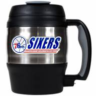 Philadelphia 76ers 52 oz. Stainless Steel Travel Mug
