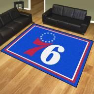 Philadelphia 76ers 8' x 10' Area Rug