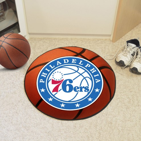 Philadelphia 76ers Basketball Mat