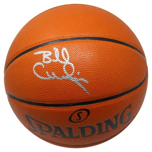 Philadelphia 76ers Billy Cunningham Signed Spalding NBA Basketball