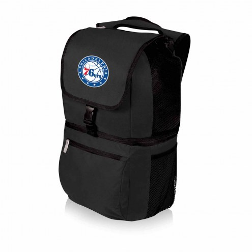 Philadelphia 76ers Black Zuma Cooler Backpack