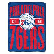 Philadelphia 76ers Clear Out Throw Blanket