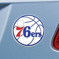 Philadelphia 76ers Color Car Emblem