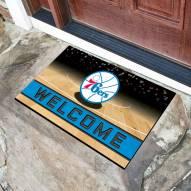 Philadelphia 76ers Crumb Rubber Door Mat