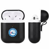 Philadelphia 76ers Fan Brander Apple Air Pods Leather Case