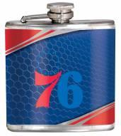 Philadelphia 76ers Hi-Def Stainless Steel Flask