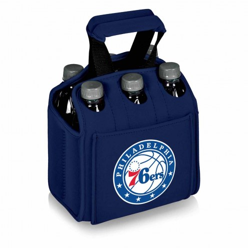 Philadelphia 76ers Navy Six Pack Cooler Tote