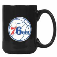 Philadelphia 76ers NBA 2-Piece Ceramic Coffee Mug Set
