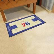 Philadelphia 76ers NBA Court Large Runner