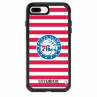 Philadelphia 76ers OtterBox iPhone 8 Plus/7 Plus Symmetry Stripes Case