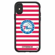 Philadelphia 76ers OtterBox iPhone X/Xs Symmetry Stripes Case